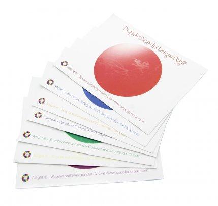 Set da 7 Carte - Di Quale Colore hai Bisogno Oggi?