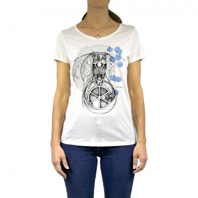 T-Shirt Donna Cavallo Taglia M