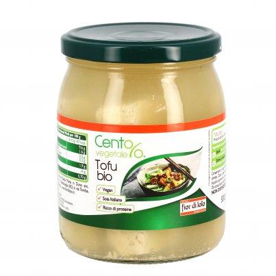 Tofu in Vetro Bio - Cento%Vegetale 250 Grammi