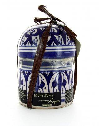 Ceramica Fez con Sapone Nero di Eucalipto - 300 g.
