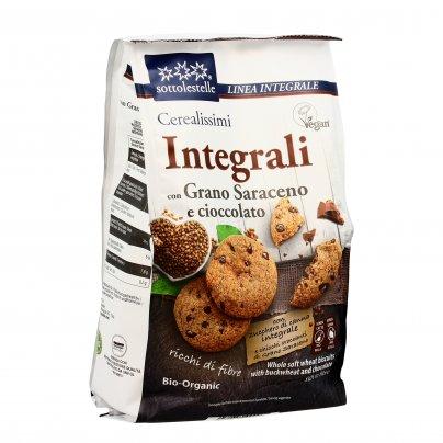 Biscotti Cerealissimi Integrali con Grano Saraceno e Cioccolato