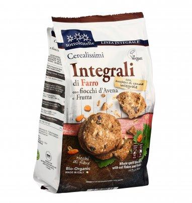 Biscotti Integrali Farro, Avena e Frutta - Cerealissimi