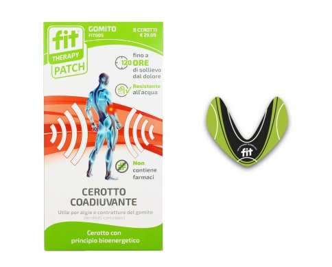 Cerotti Coadiuvanti Bioenergetici - Fit-Therapy Patch Gomito