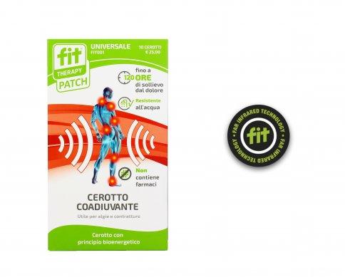 Cerotti Coadiuvanti Bioenergetici - Fit-Therapy Patch Universale (10 Pezzi)