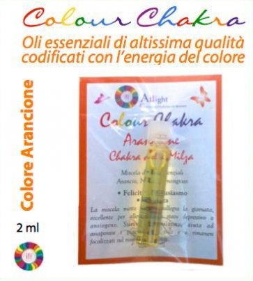 Colour Chakra Oil - Arancione 2 ml