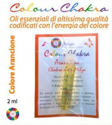 Colour Chakra Oil - Arancione 2 ml