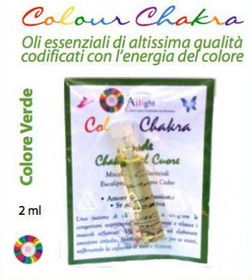 Colour Chakra Oil - Verde