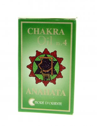 Olio Chakra n.4 Anahata - 10 ml.