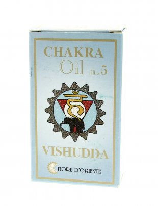 Olio Chakra n.5 Vishudda - 10 ml.