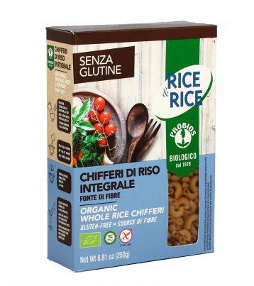 Pasta Chifferi di Riso Integrale - Rice & Rice