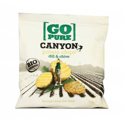 Potato Chips Dill & Chive - Patatine Bio all'Aneto e Erba Cipollina