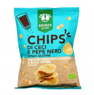 Chips di Ceci e Pepe Nero - Senza Glutine