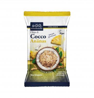 Chips di Cocco con Ananas