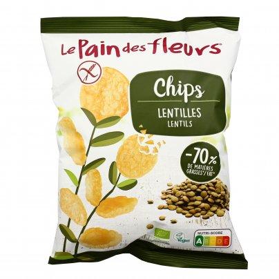 Chips alle Lenticchie Bio - Senza Glutine