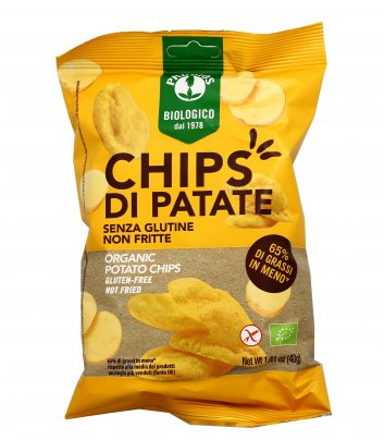 Chips di Patate Non Fritte - Senza Glutine