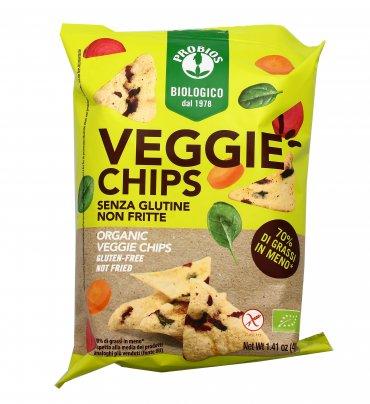Chips Veggie con Verdure Bio - Senza Glutine