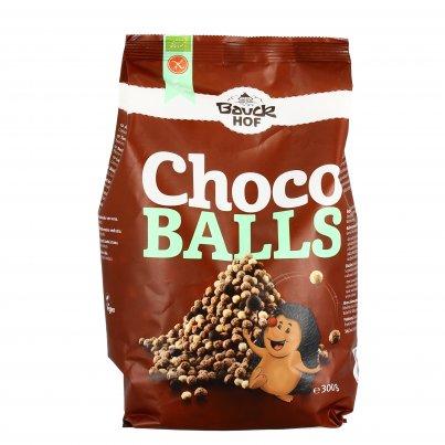 """Palline di Cereali Croccanti con Cioccolato """"Choco Balls"""" - Senza Glutine"""