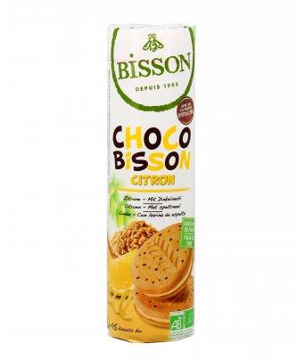 Biscotti al Farro con Cioccolato e Crema di Limone - Choco Bisson Citron