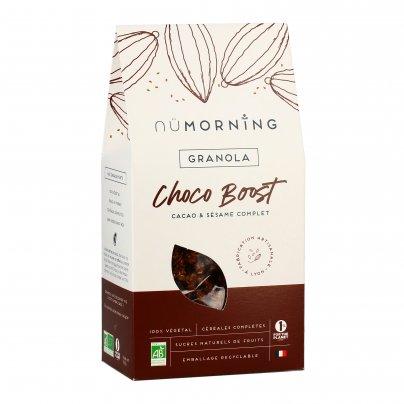 "Granola Bio Cacao e Sesamo ""Choco Boost"""