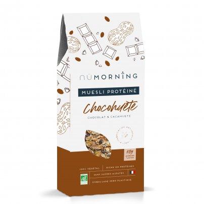 """Muesli Bio Proteico Cioccolato e Arachidi Tostate """"Chocohuete"""""""