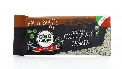 Barretta Cioccolato e Canapa - Fruit Bar