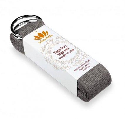 Cintura Yoga Cotone Antracite