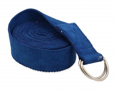Cintura Yoga di Cotone Blu Scuro