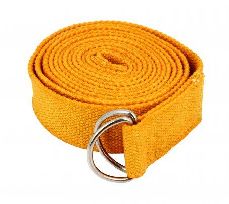 Cintura Yoga di Cotone Giallo Oro