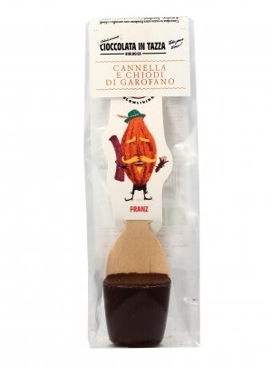 Cioccolata In Tazza - Franz Extra Fondente con Cannella e Chiodi di Garofano