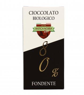 Cioccolato Biologico 80% Fondente
