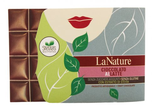 Cioccolato al Latte con Stevia - Conf. Cartone