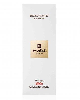 Cioccolato Fondente 52% Amato con Ashwagandha e Mucuna