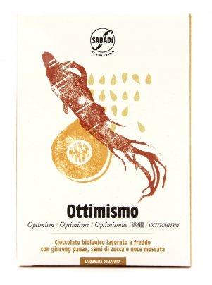 Ottimismo - Cioccolato Biologico - 50 gr.