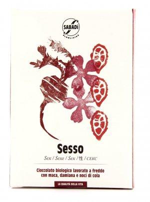Sesso - Cioccolato Biologico - 50 gr.
