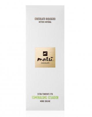 Cioccolato Extra Fondente 72% Esmeraldas Ecuador