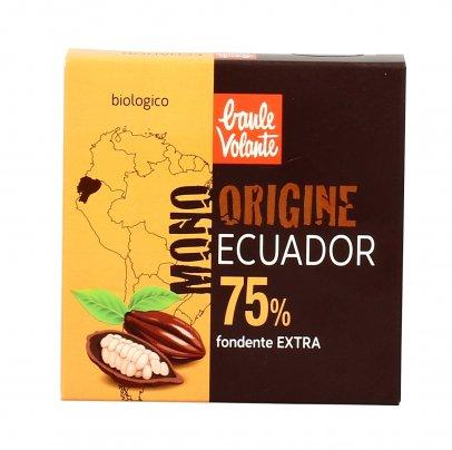 Cioccolato Fondente Extra 75% Ecuador
