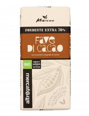 Cioccolato Fondente Extra 70% Fave di Cacao