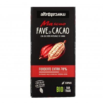 Cioccolato Bio Fondente Extra 70% - Mascao