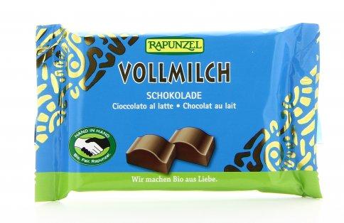 Cioccolato Biologico al Latte