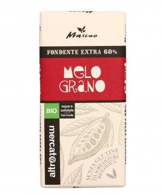 Cioccolato Fondente Extra 60% con Melograno Bio