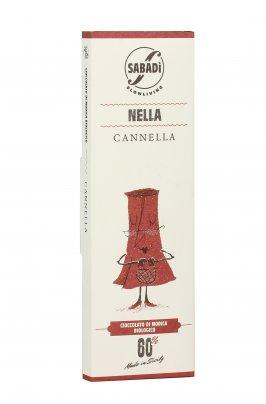 Cioccolato di Modica Bio - Nella Cannella - 50 gr.