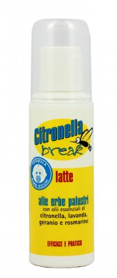 Emulsione Antizanzare - Citronella Break Latte