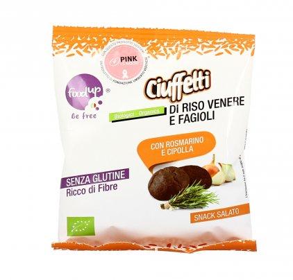Ciuffeti di Riso Venere e Fagioli - Senza Glutine