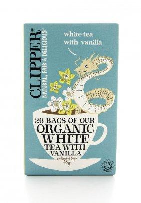 Tè Bianco alla Vaniglia Bio