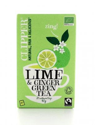 Tè Lime e Zenzero Bio