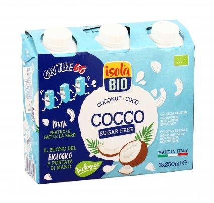 "Bevanda Bio al Cocco Senza Zuccheri Brik ""On The Go"""
