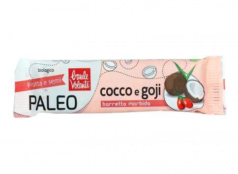Barretta Morbida Paleo con Cocco e Goji Bio