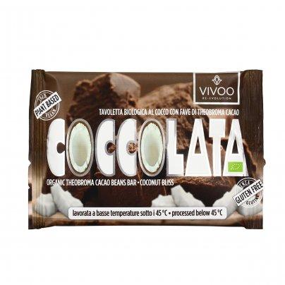Cioccolato Vergine Raw - Cremoso al Cocco