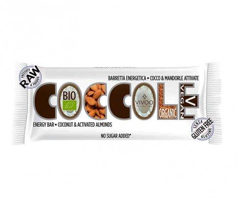 Barretta Energetica Coccole - Cocco e Mandorle Attivate