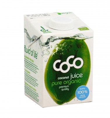 Succo di Cocco Biologico - Coco Juice 500 ml